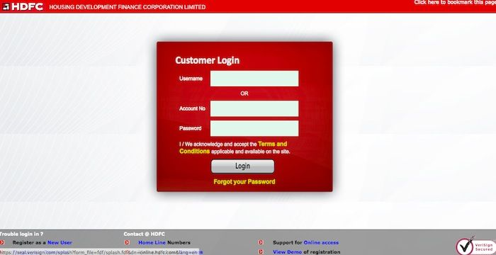 Hdfc Home Loan Login  Login Archives