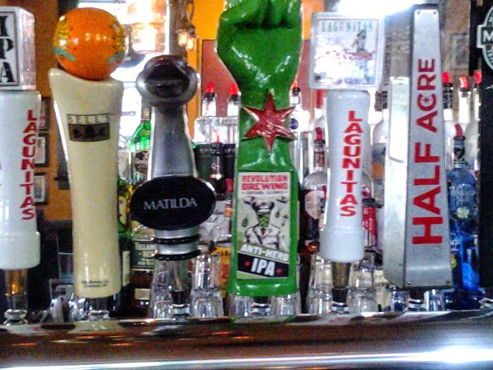 Draft beer menu at O\u0027Donovan\u0027s in Chicago Restaurants/Bars