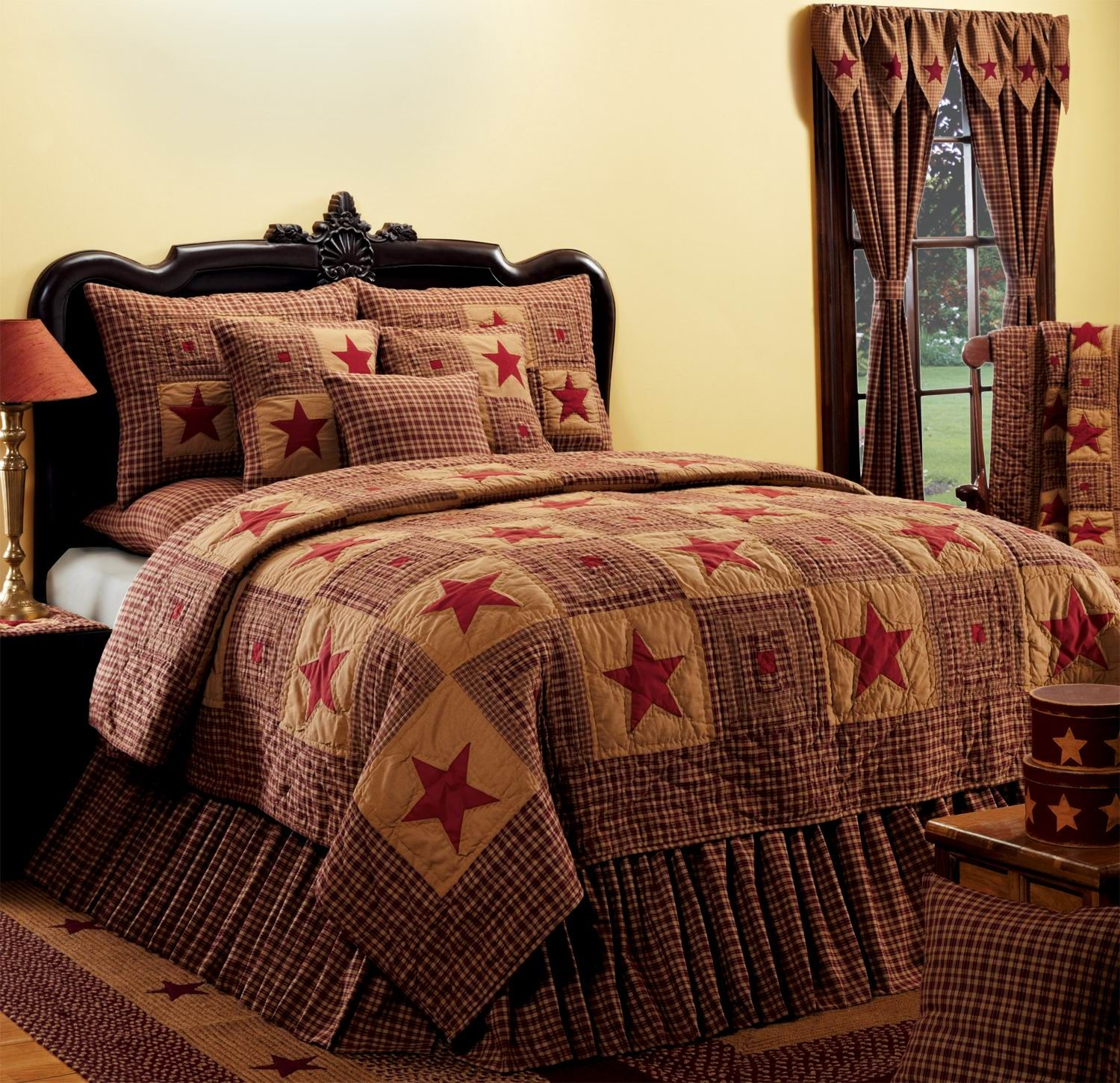 curtains bed bedding available for ideal pheasant matching pin home are tartan country with also a