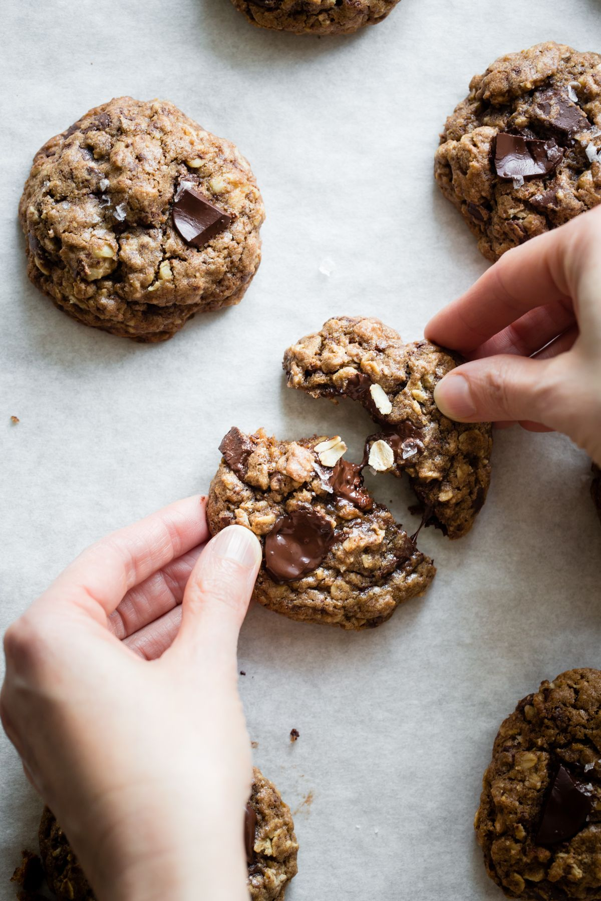 Gluten Free Oatmeal Teff Chocolate Chip Cookies Cookie Mix Gift