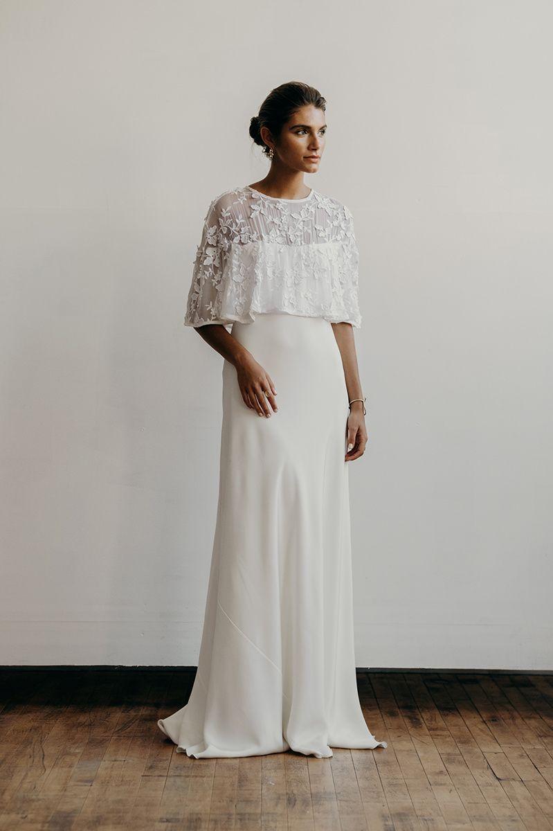 Xela dress front | Lena Medoyeff | Bridal | Portland, Oregon ...