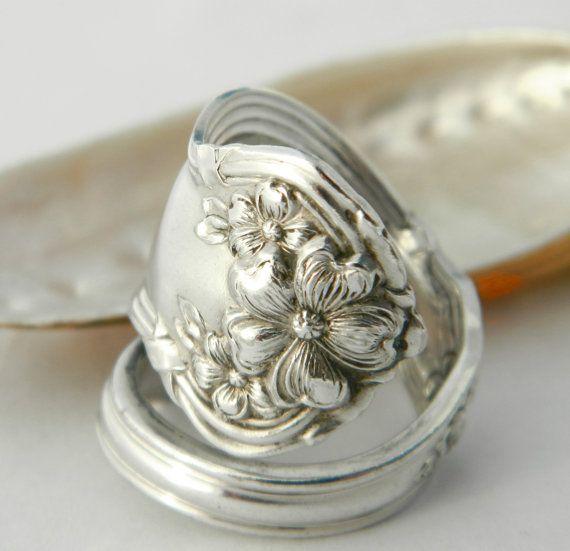 Spoon Ring   Arbutus 1908 Spoon Jewelry door CaliforniaSpoonRings, $23.00
