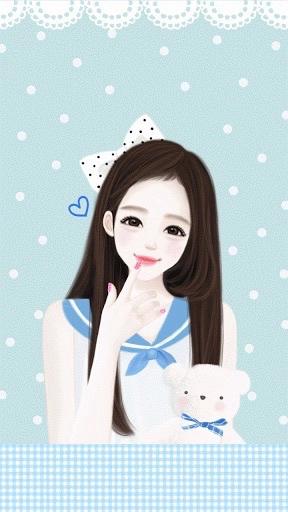 Enakei Kartun, Anime gadis cantik, Gadis cantik