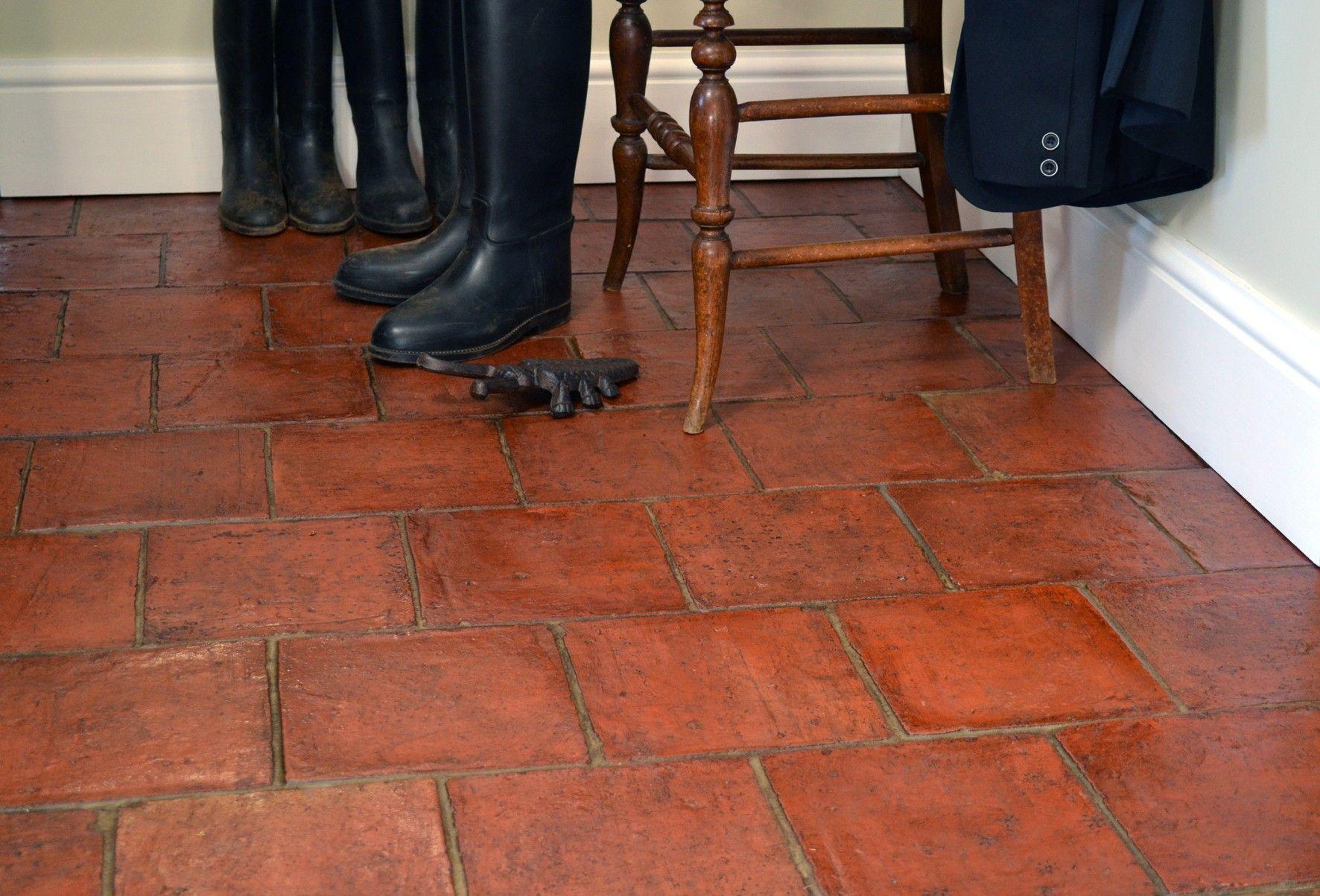 handmade rustic terracotta | terracotta tile, parisian chic decor