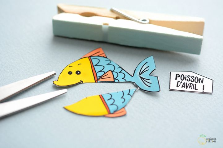 DIY Poisson d avril Bocal et pinces farceuses | STICKS