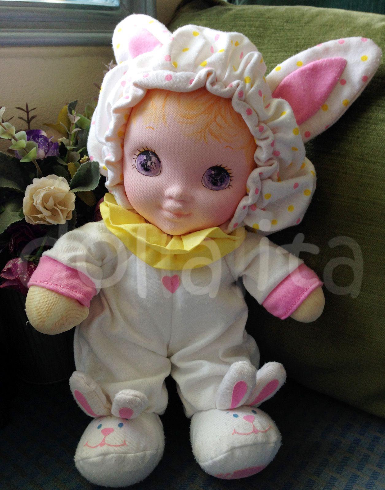 Vintage 14 Playskool Jammie Pie I Still Have My Jammie Pie Doll Playskool Vintage Dolls Rabbit Dolls