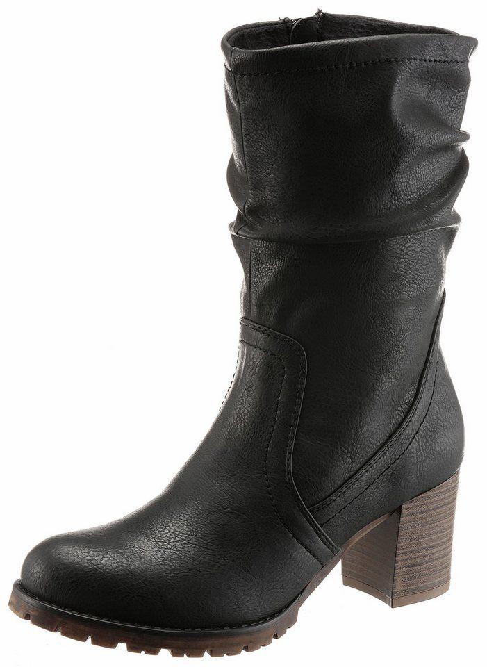 Arizona Stiefel mit Deko Schließen   Produktkatalog Fashion