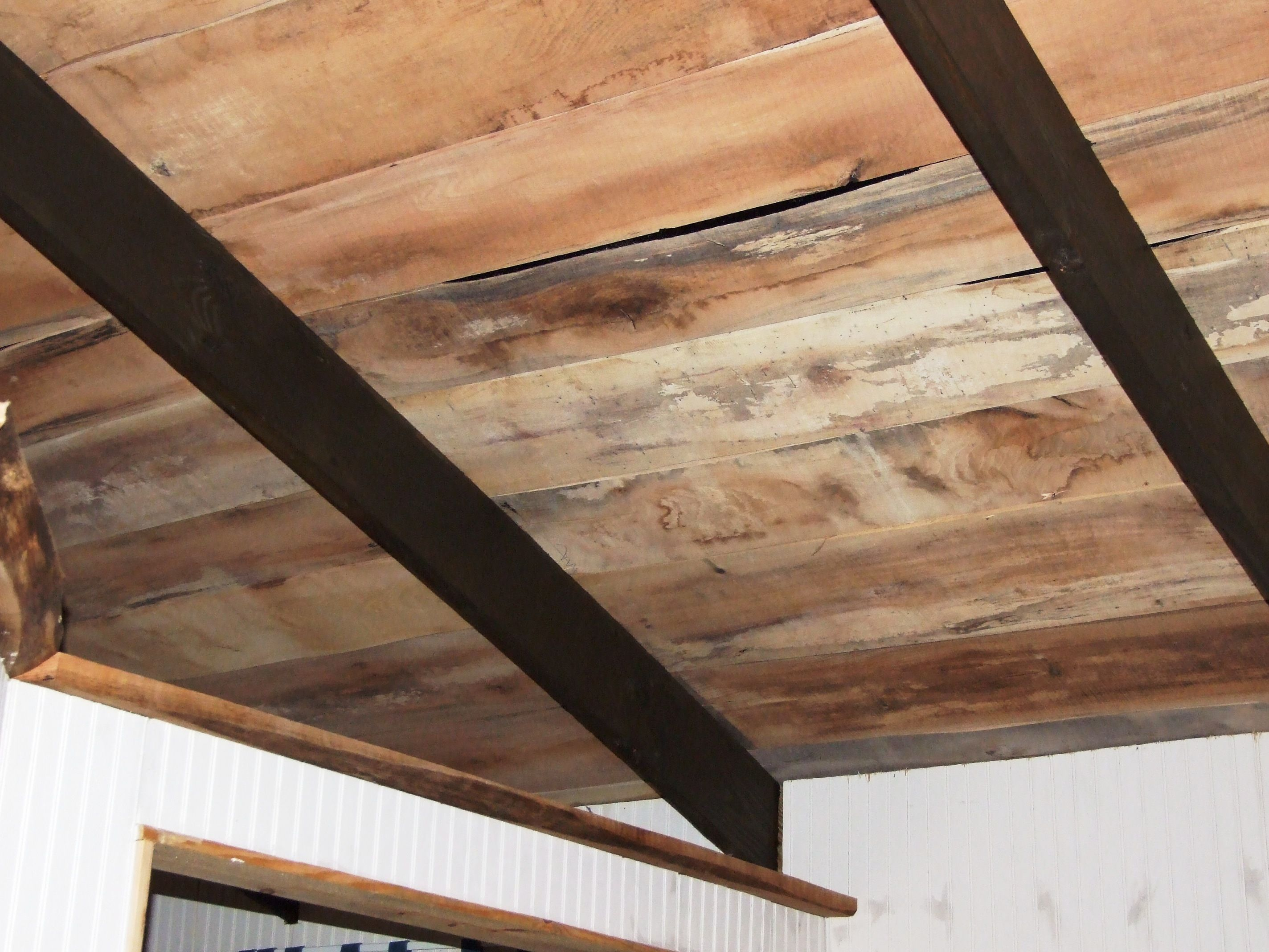 Ceiling Rough Sawn Amish Mill Wood Ceiling Wood Ceilings Interior And Exterior Wood