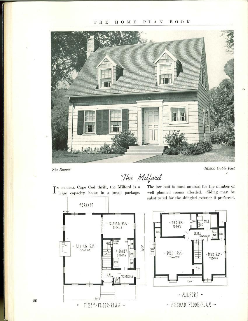The Home Plan Book 49 Designs Home Plan Book Co Free Download Borrow And Streaming Internet Archive House Plans New House Plans Vintage House Plans