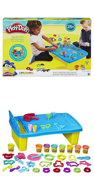 Play-Doh Modeling Clay 11740 New Play-Doh Play N Store Table Set  sc 1 st  Pinterest & Play-Doh Modeling Clay 11740: New Play-Doh Play N Store Table Set ...