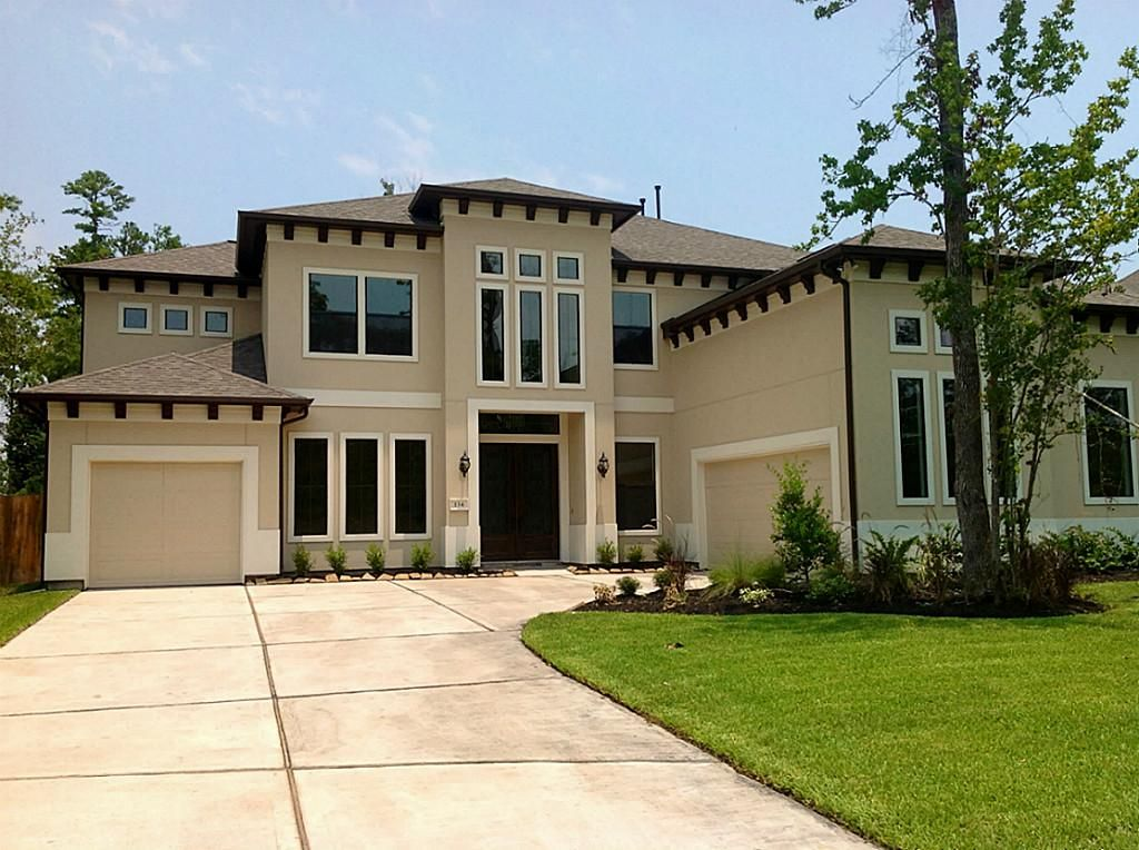 San sebastian floor plan beautiful stucco home view all - Painting a stucco house exterior ...