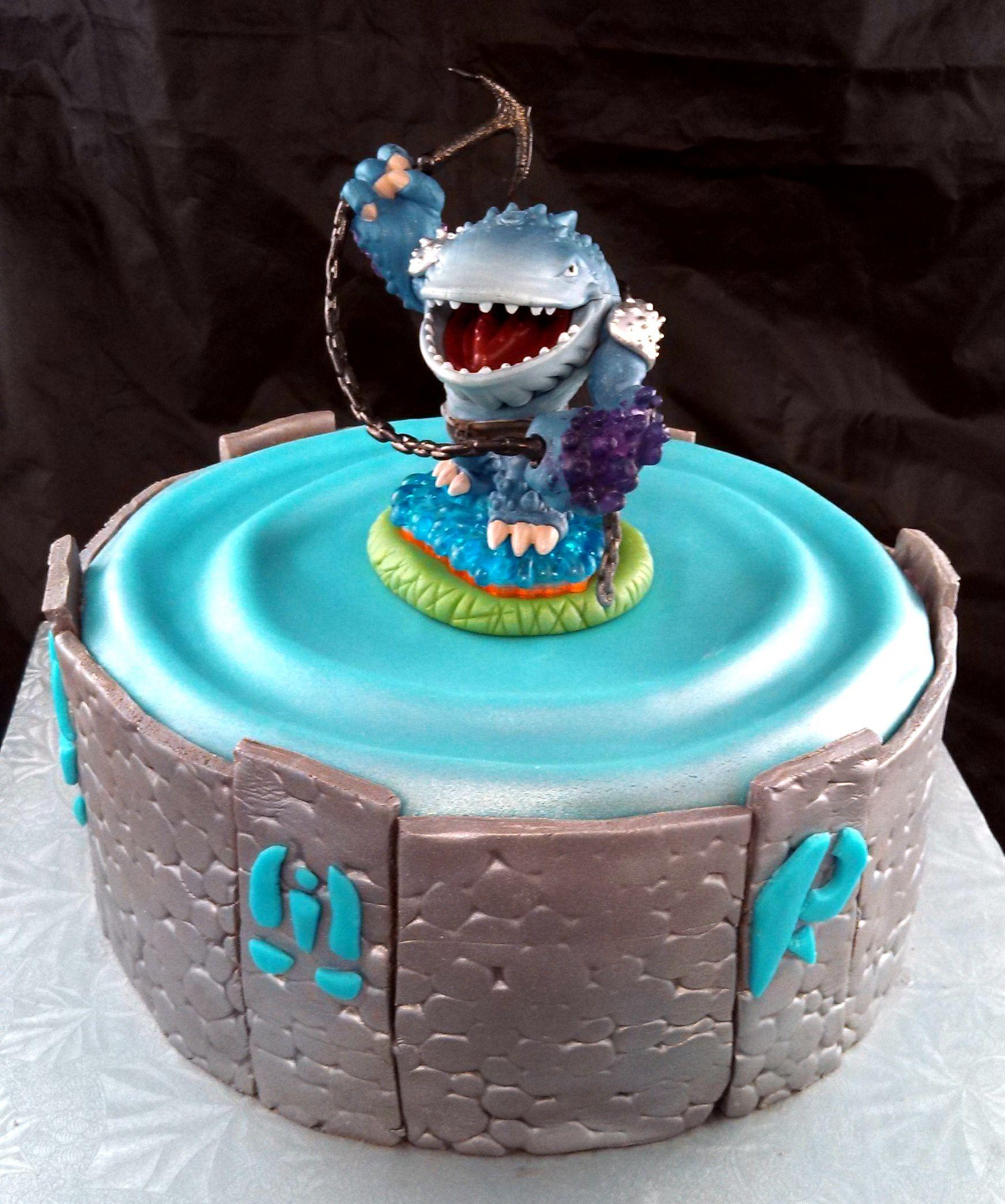 Skylander Portal Cake My Cakes Sugar And Spice Sweets Pinterest