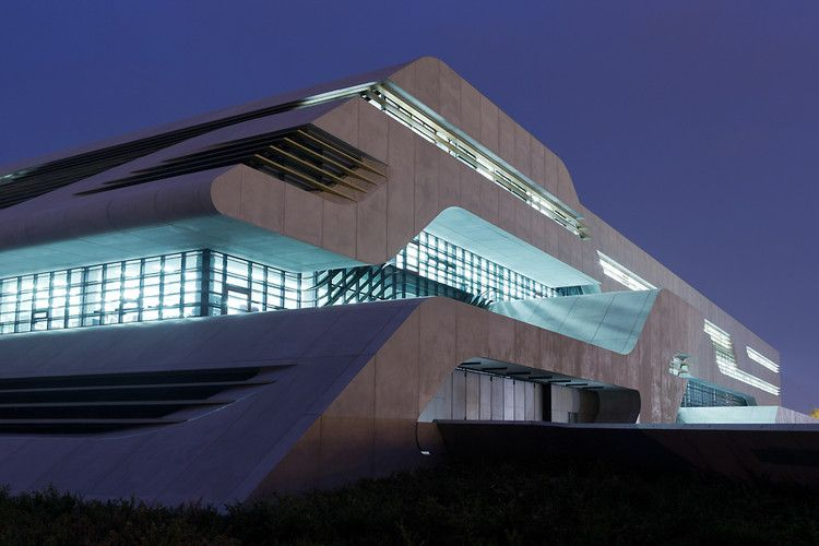 Zaha Hadid's New Building: Like An Infographic Made Of Concrete | Co.Design: business + innovation + design