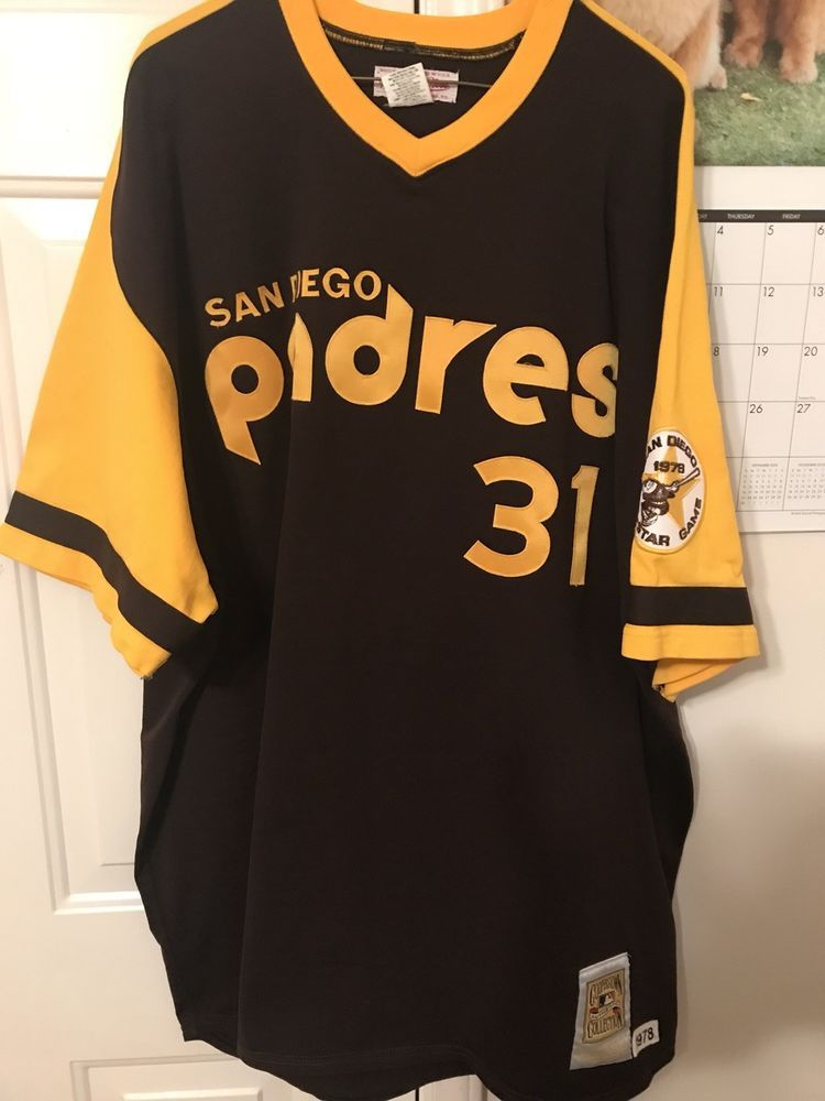 4afbecbe3c6 Mitchell And Ness San Diego Padres Dave Winfield Jersey Size 4xl VNDS (eBay  Link)