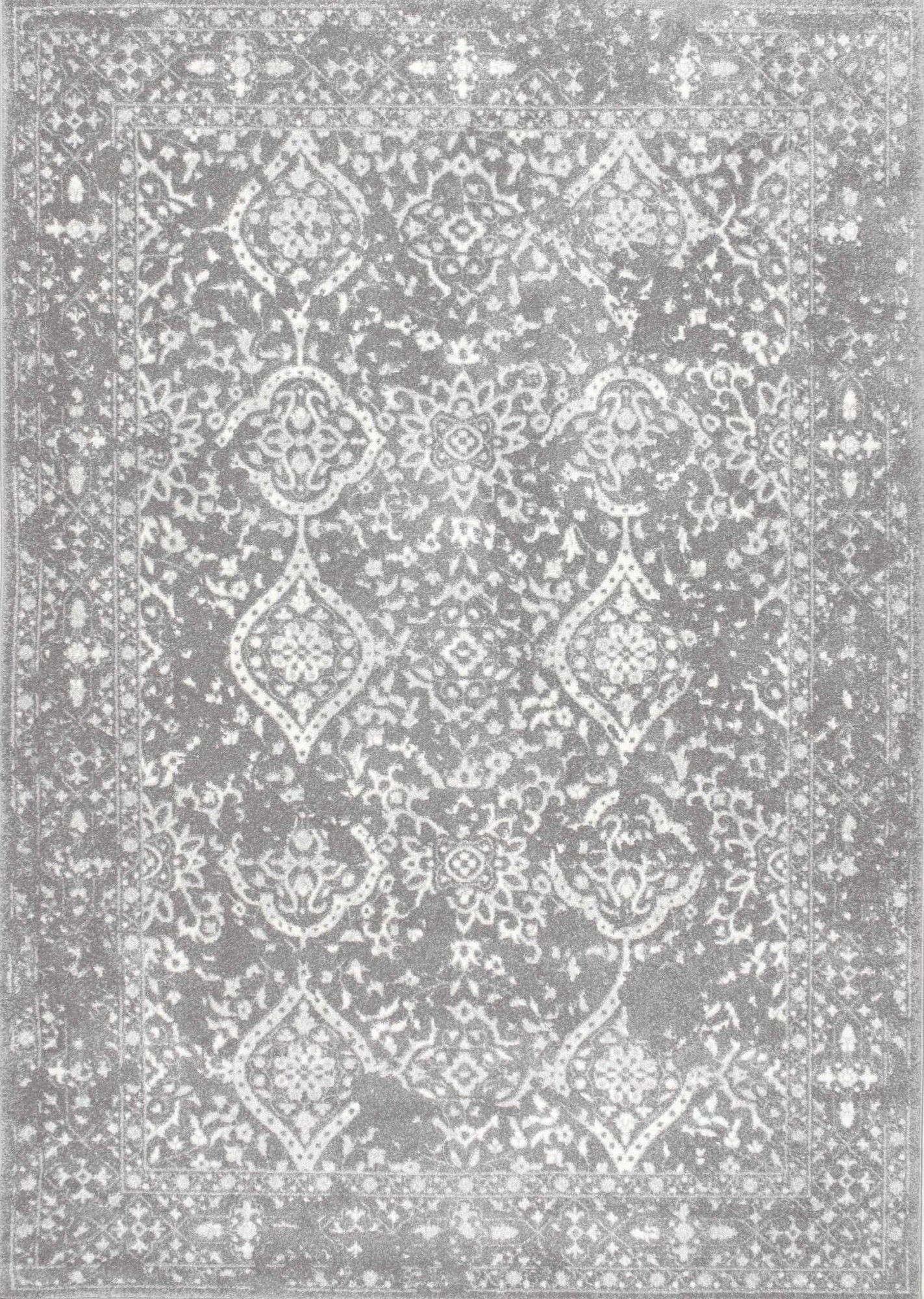 nuLOOM Vintage Mabelle Silver Area Rug & Reviews   Wayfair