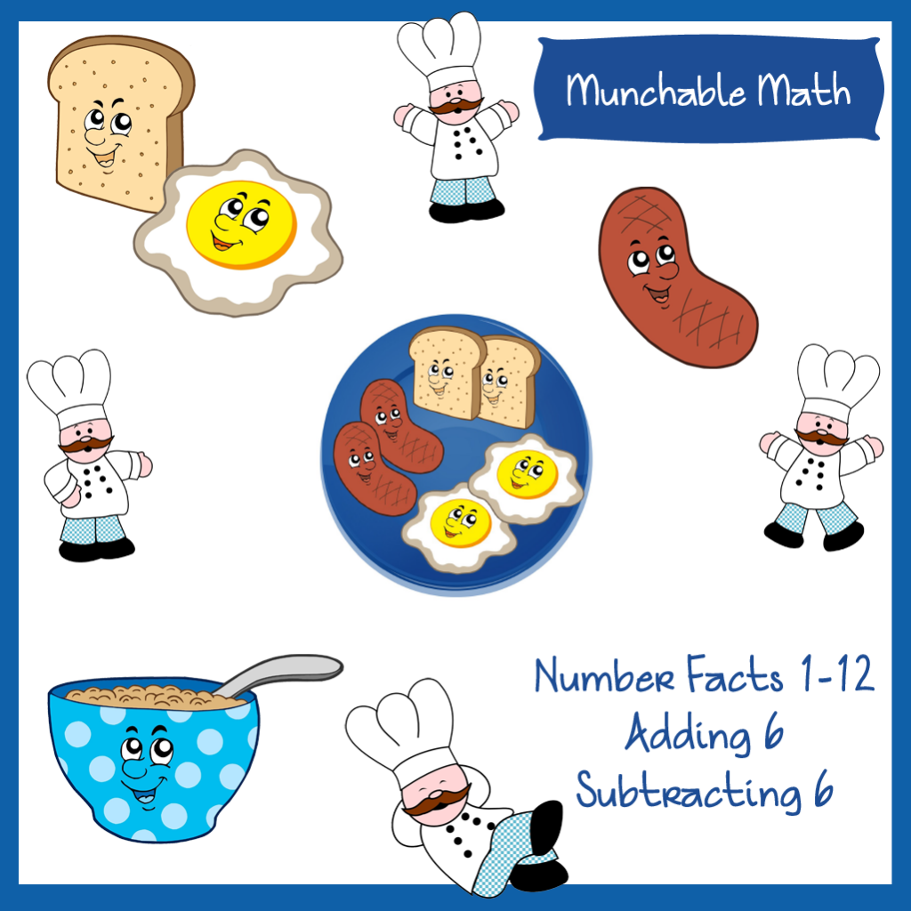 Come And Grab These Free Munchable Math Worksheets For