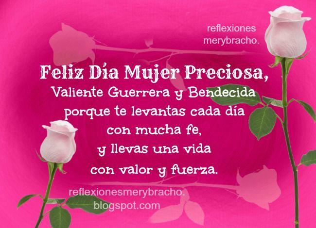 Pin De Antonio Gonzalez En Mio Mensaje De Feliz Dia Feliz Día De La Mujer Feliz Día