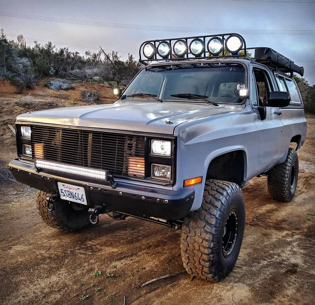 The Coolest Chevy K5 Blazer Overland Project Full Review In 2020 K5 Blazer Chevy Chevy Trucks
