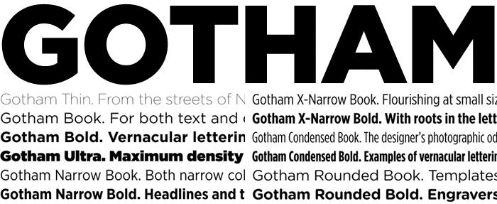 12 Best Fonts For Web Design | Global | Gotham font, Resume