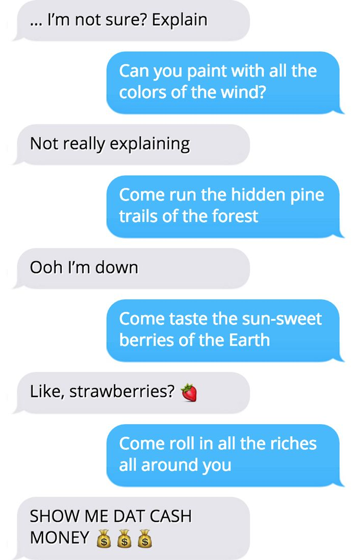 Lyric Text Prank