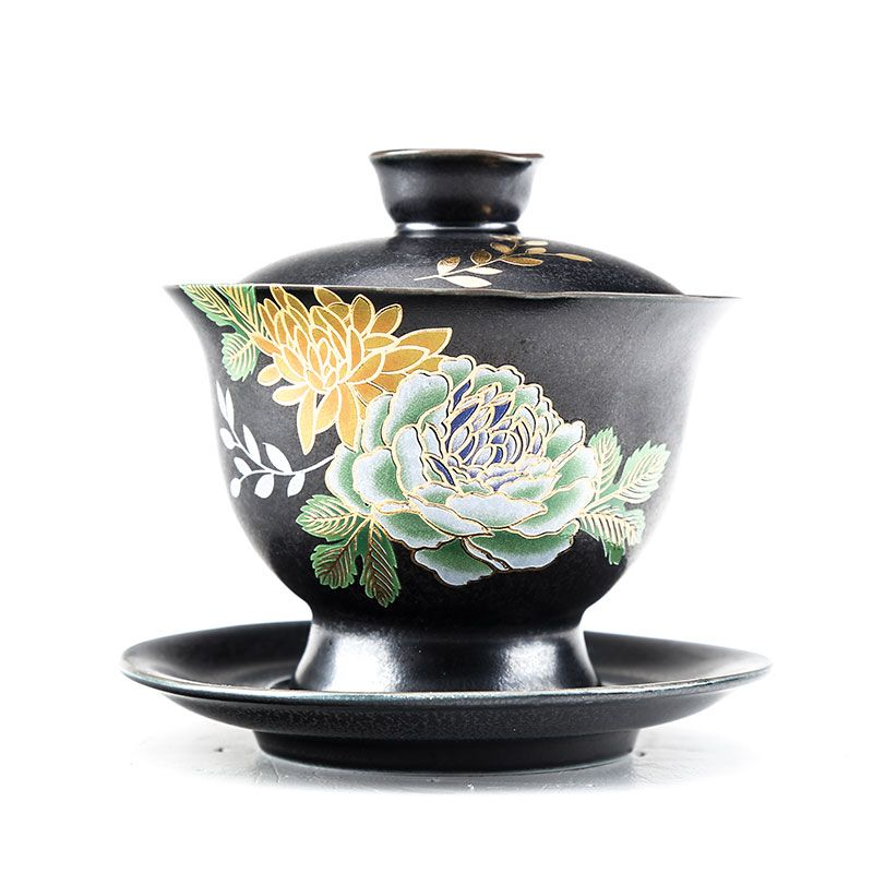 China antique Porcelain Qing guangxu Celadon Glaze gongfu tea cup