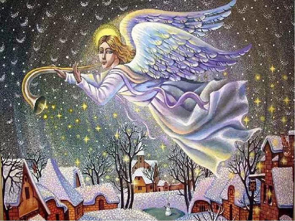 Христианские рисунки на рождество
