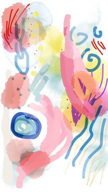 """""""Colors of Joy"""" abstract expressionism by Danielle Rosaria"""