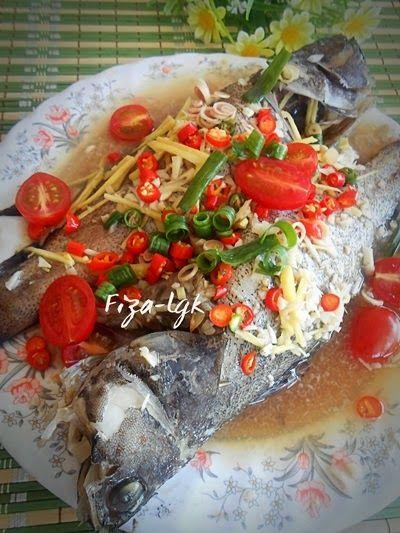 Ikan Kerapu Kukus Stim Mudah Makanan Resep Masakan Resep Masakan Indonesia