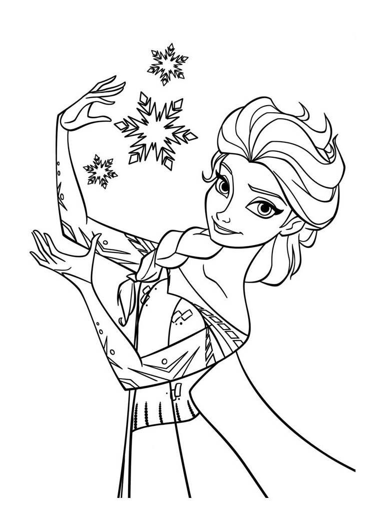 coloriage-la-reine-des-neiges-elsa-2.jpg (765×1060) | bricolage ...