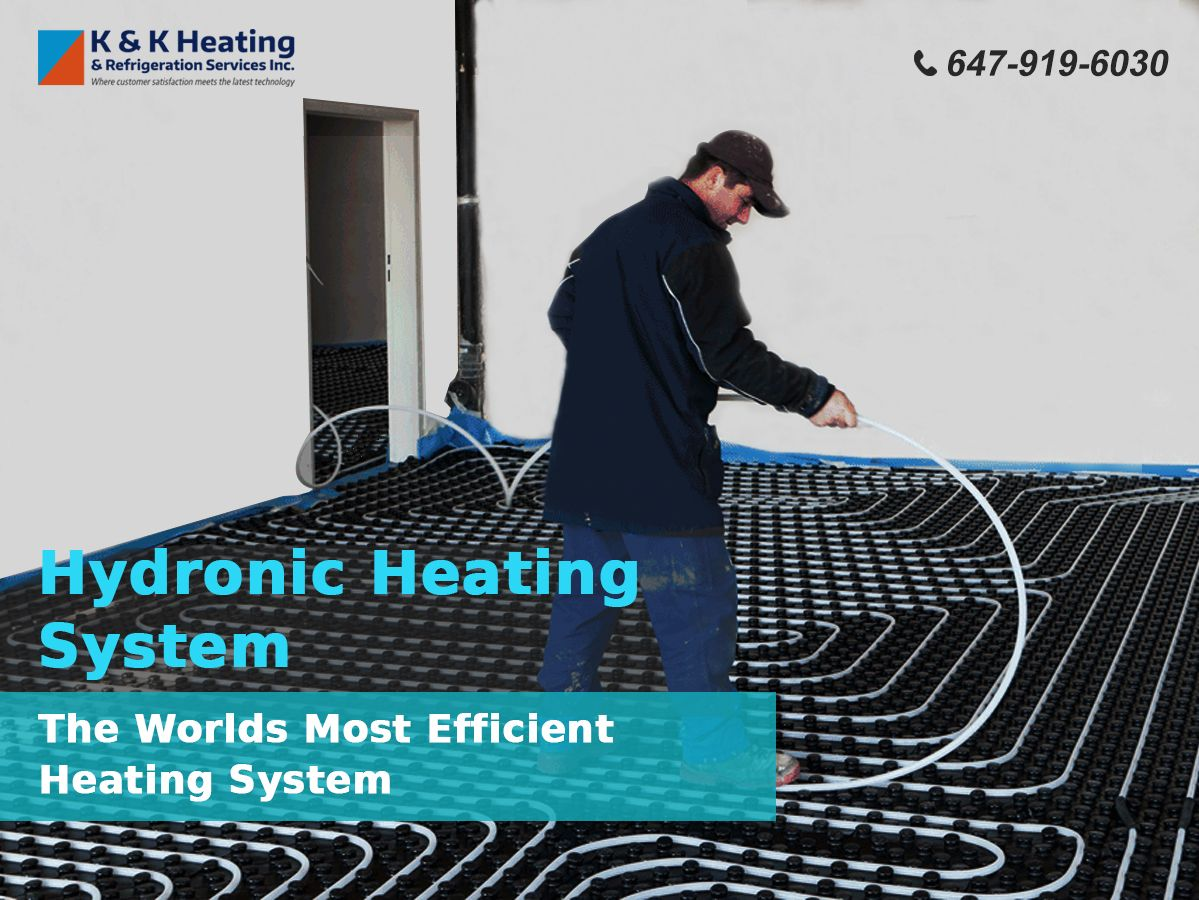 World S Most Efficient Heating System Heating Systems Hydronic
