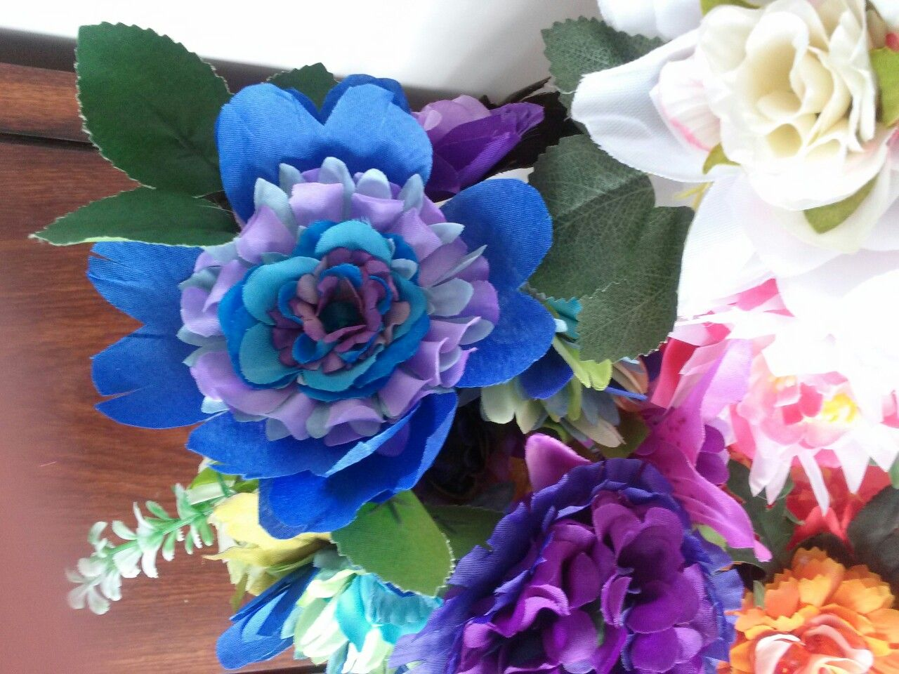Upcycled from cheap dollar store artificial flowers devan upcycled from cheap dollar store artificial flowers izmirmasajfo