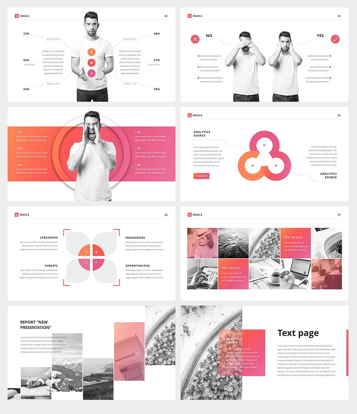 Miracle Google Slides Template SupportFullHDpre