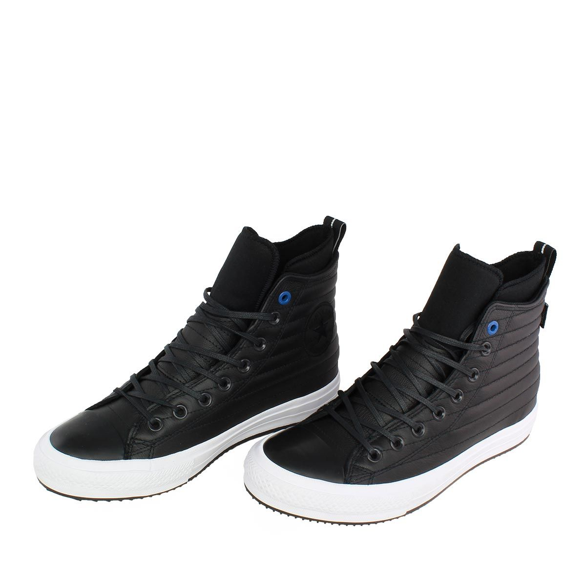 reputable site bdf02 647cb Converse Chuck Taylor All Star Waterproof Boot High μαύρα μποτάκια με  αδιάβροχο quilted δέρμα στο πάνω