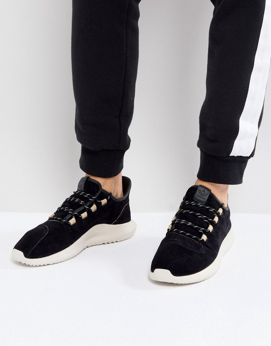 size 40 a2424 8234c ADIDAS ORIGINALS TUBULAR SHADOW SNEAKERS IN BLACK BY3568 ...