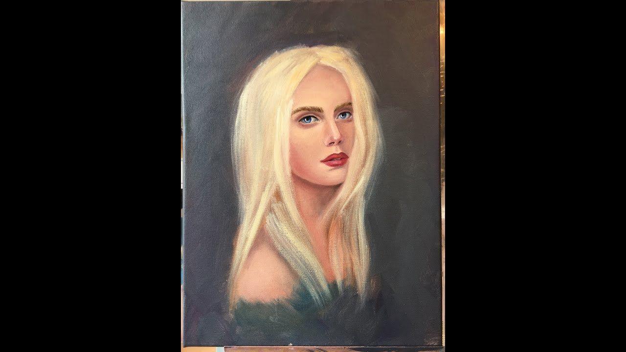 White / Portrait serien / Portraitmalerei