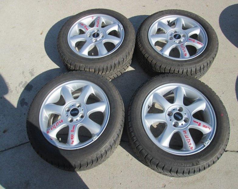 Mini Cooper R56 Kola Opony Felgi 16 Zimowe Zima 4898520419 Oficjalne Archiwum Allegro Oem Wheels Wheels Tires Wheel