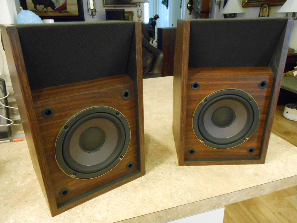 Bose 201 Series II Direct Reflecting Bookshelf Speakers Vintage