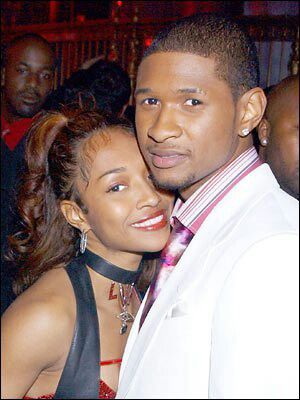 Chilli and usher started dating