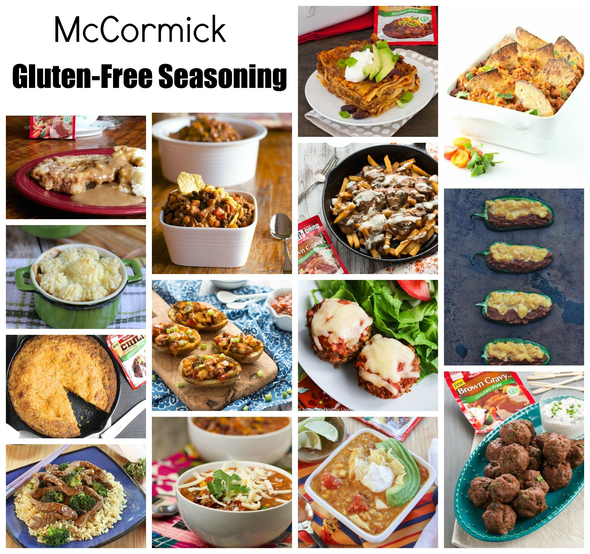 28 ways to make gluten free great with mccormick gluten free