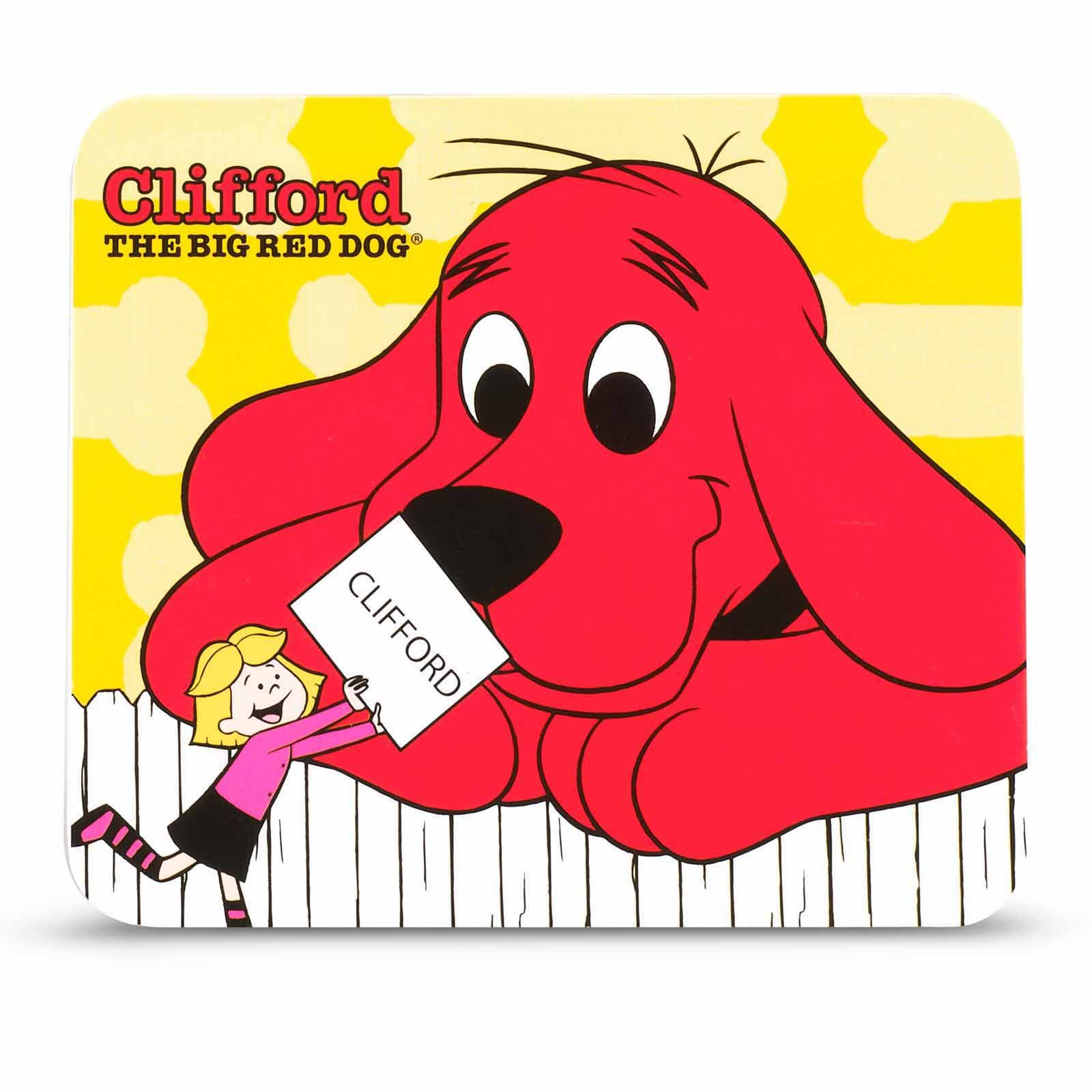 Clifford The Big Red Dog Notepad 8 Count Dog Notepads Red Dog Dog Birthday Party