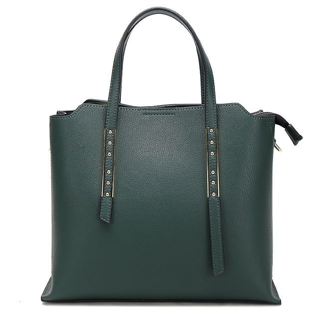 Source Wholesale fashionbags ladies handbag tote bag leather make in China on m.alibaba.com
