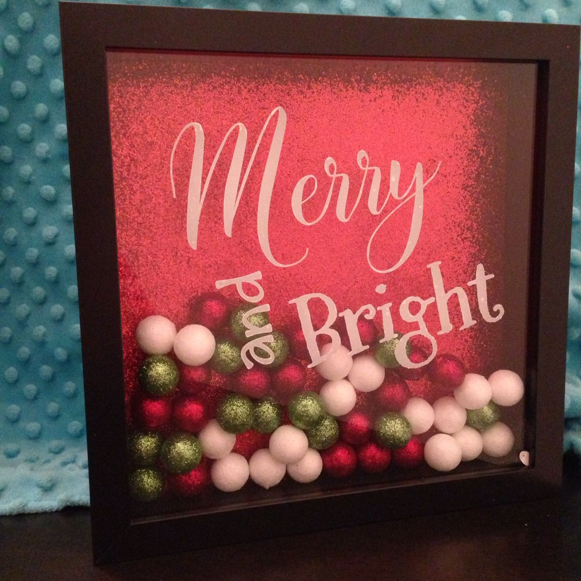 Christmas Shadow Box https://www.facebook.com/BodaciousCreations2015/