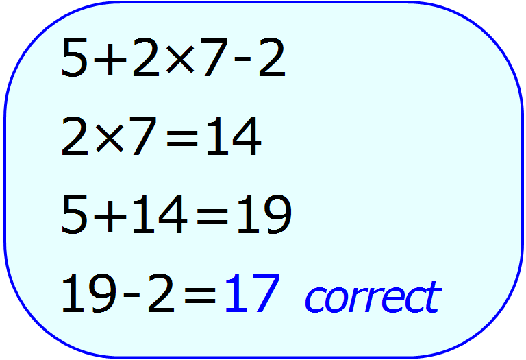 PEMDAS Examples - Bing Images | Maths | Pinterest