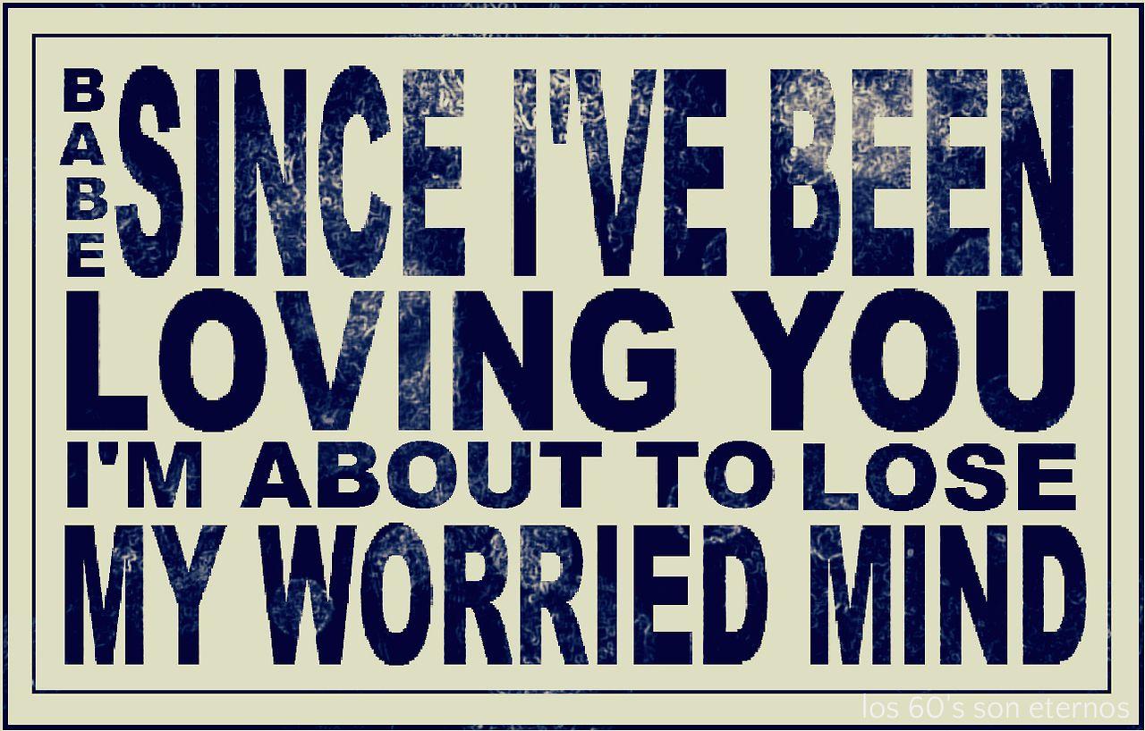 Since I've Been Loving You. Led Zeppelin 1970