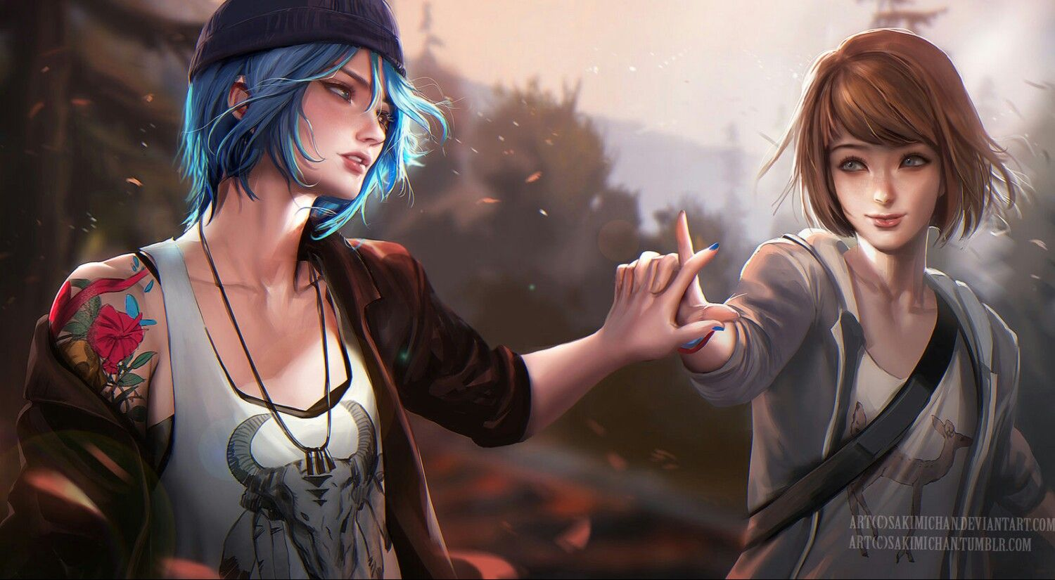 Life Is Strange —Max and Chloe by sakimichan