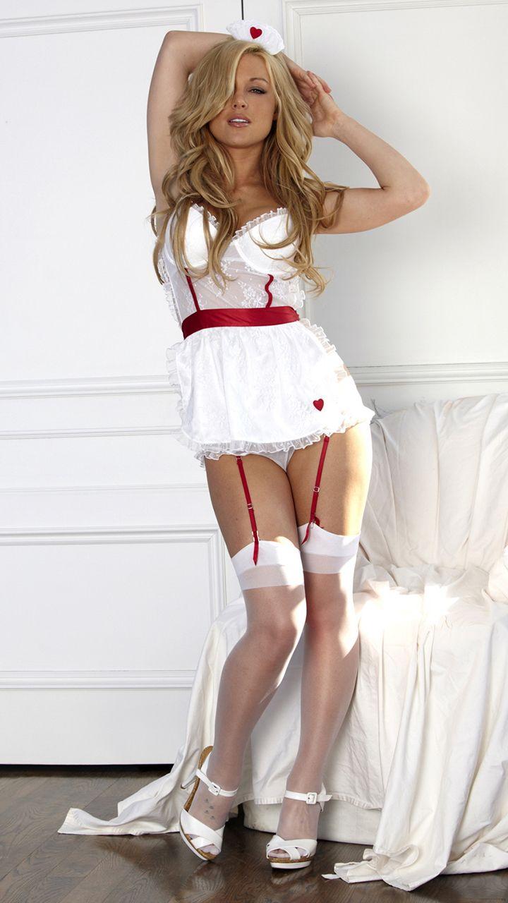 Kayden kross nurse lingerie