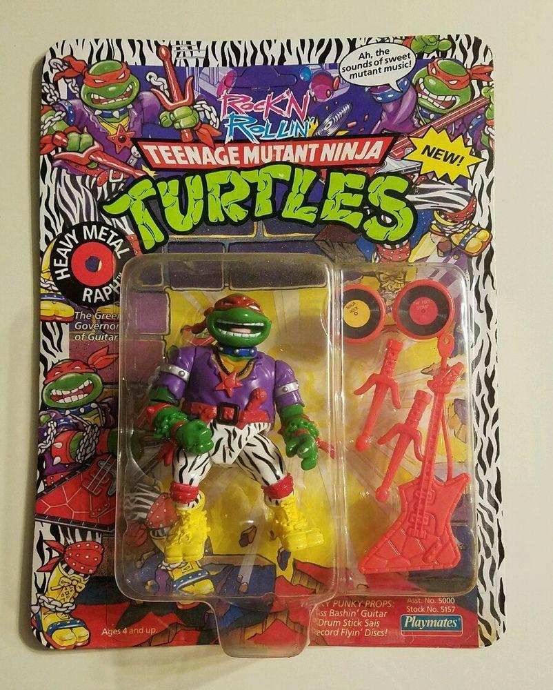 1991 Heavy Metal Raph Record Flyin/' Disc A TMNT Teenage Mutant Ninja Turtles