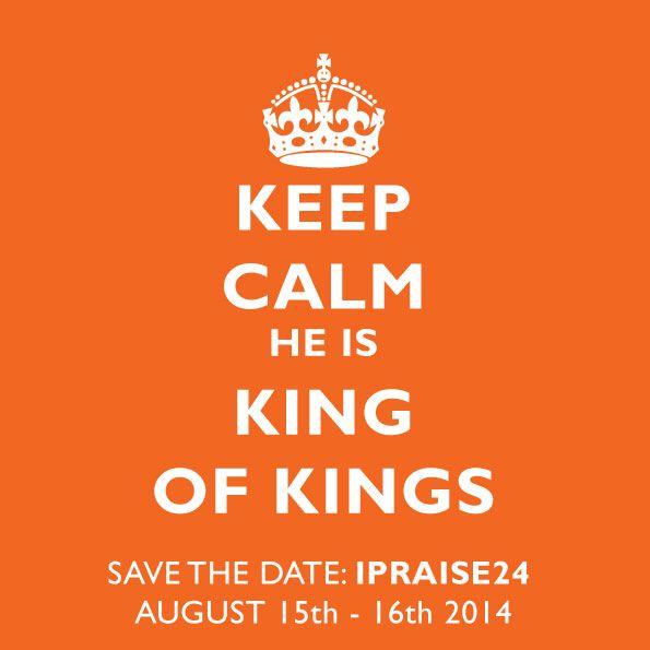 King Jesus, King of kings
