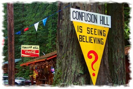 Mystery Tour: Confusion Hill, Northern California (aka the real life Mystery Shack)