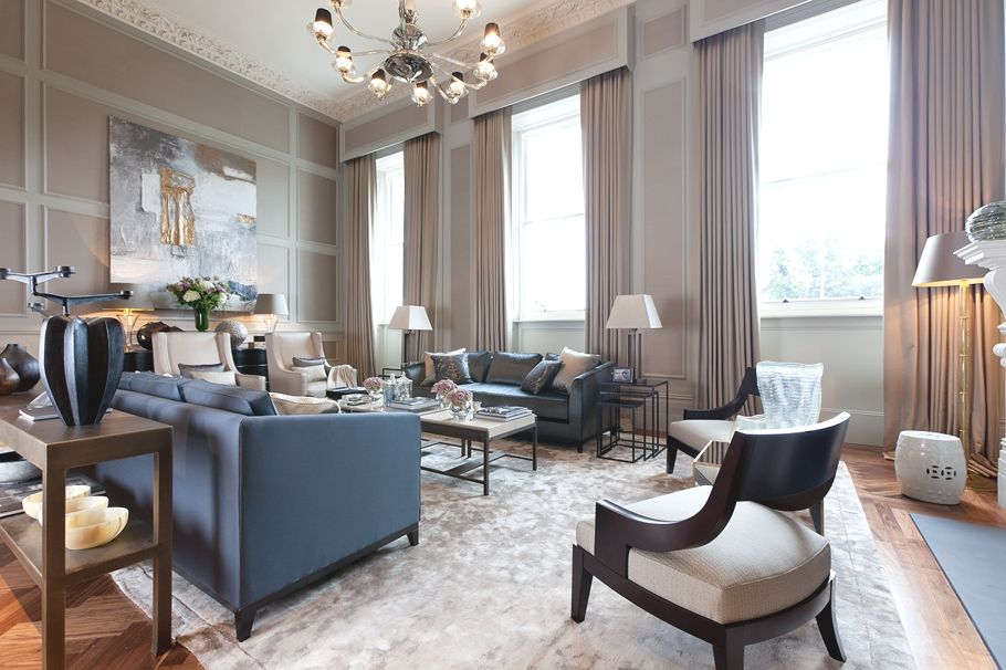 Charming Luxury Interiors: Lawson Robb Tackles The Lancasters   When Lawson Robb Was  Commissioned To Design A Show Apartment At The Lancasters It Was Their ...
